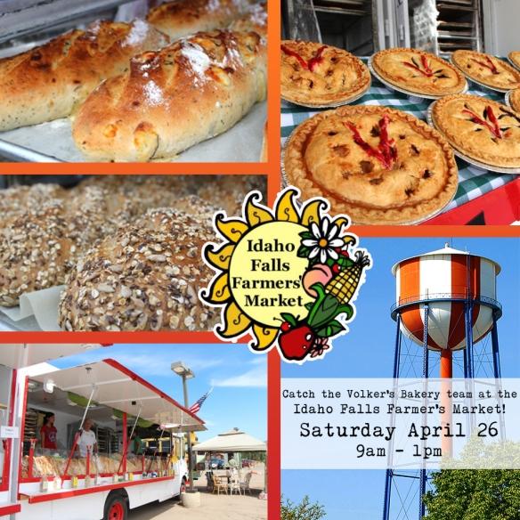 Idaho Falls Farmer's Market 2014 | Volker's Bakery
