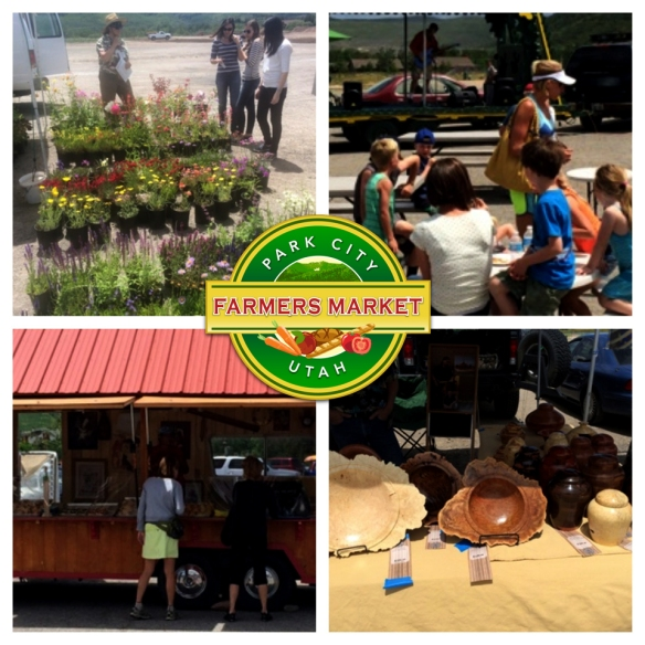 Park City Farmers Market Opening Day 2014