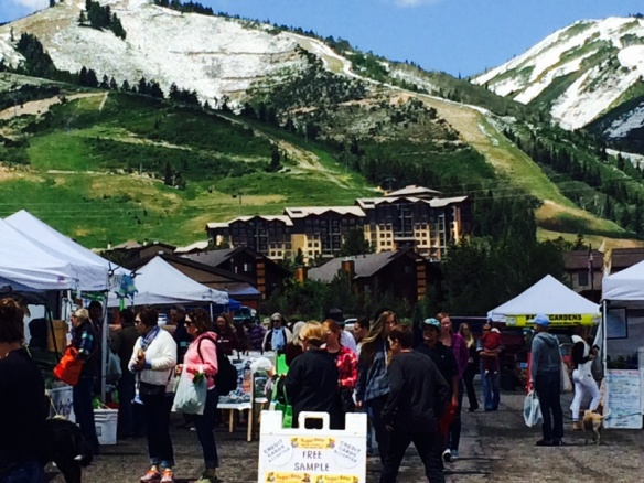 Park City Farmer's Market 2014