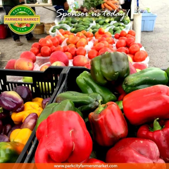 Sponsor the Park City, Utah Farmers Market today!